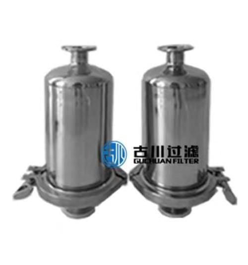 石家庄古川过滤公司供应不锈钢管道过滤器,用于狭窄过滤空间。