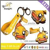 pvc软胶钥匙扣定制卡通立体动漫链广告logo橡胶可爱硅胶挂件定做;