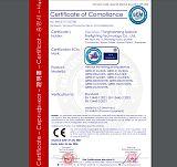 欧盟压力设备CE证书;
