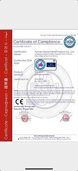 欧盟计量器具CE证书MID指令;